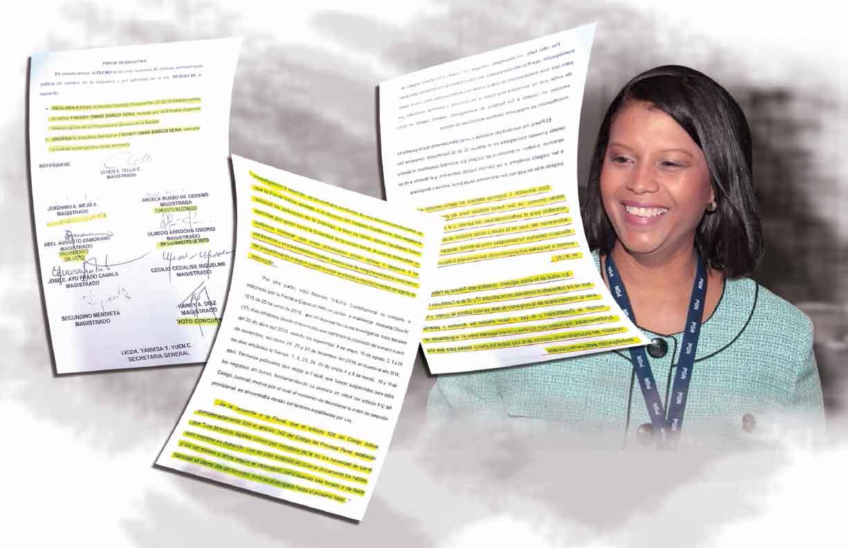 Fiscal Zuleyka Moore podría afrontar proceso penal