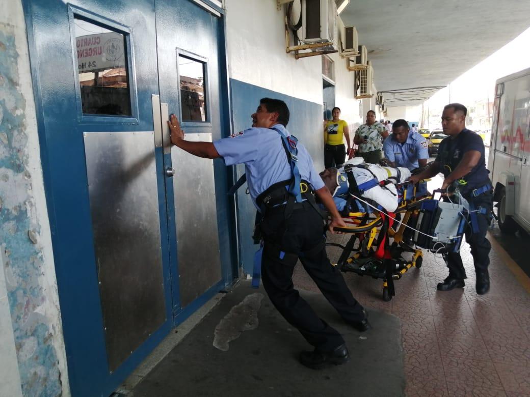 Un muerto y dos lesionados en accidente laboral en Aguas Claras