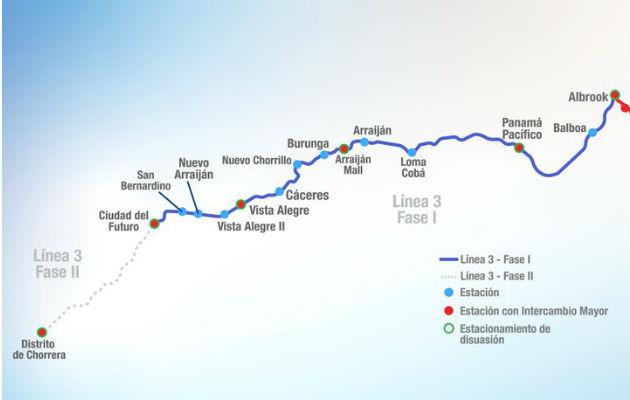 Línea 3 del Metro podría estar lista en unos  54 meses