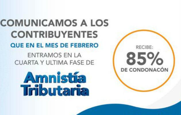 En la última etapa de la amnistía tributaria se exonerará el 85 por ciento en el pago de impuesto