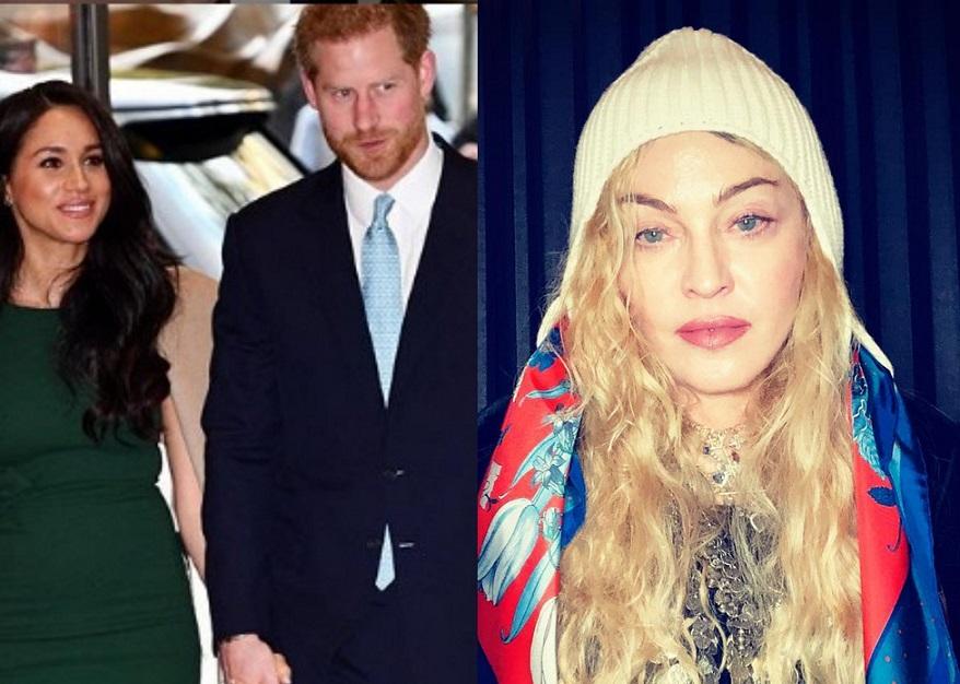 Madonna le hizo una oferta a Meghan Markle y al príncipe Harry