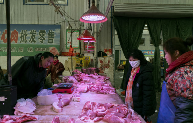 Mercados chinos son incubadoras de virus