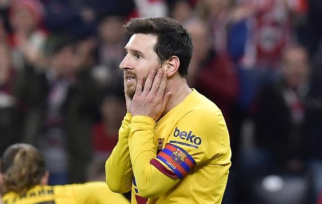 Barcelona también se quedará sin Copa del Rey tras caer ante el Athletic