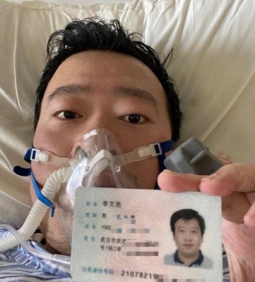 Li Wenliang, era oftalmólogo y tenía 34 años de edad cunado se reporto su deceso. Foto tomada de @globaltimesnews
