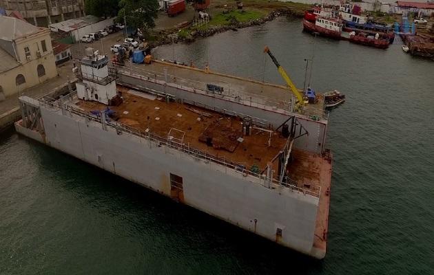 Inicia operaciones primer dique flotante en Panamá