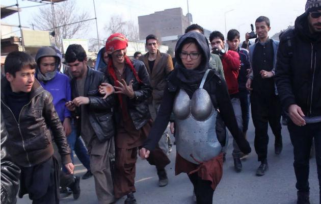 Ser artista es un empleo peligroso en Afganistán