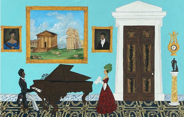 Artistas reviven una cultura criolla desaparecida