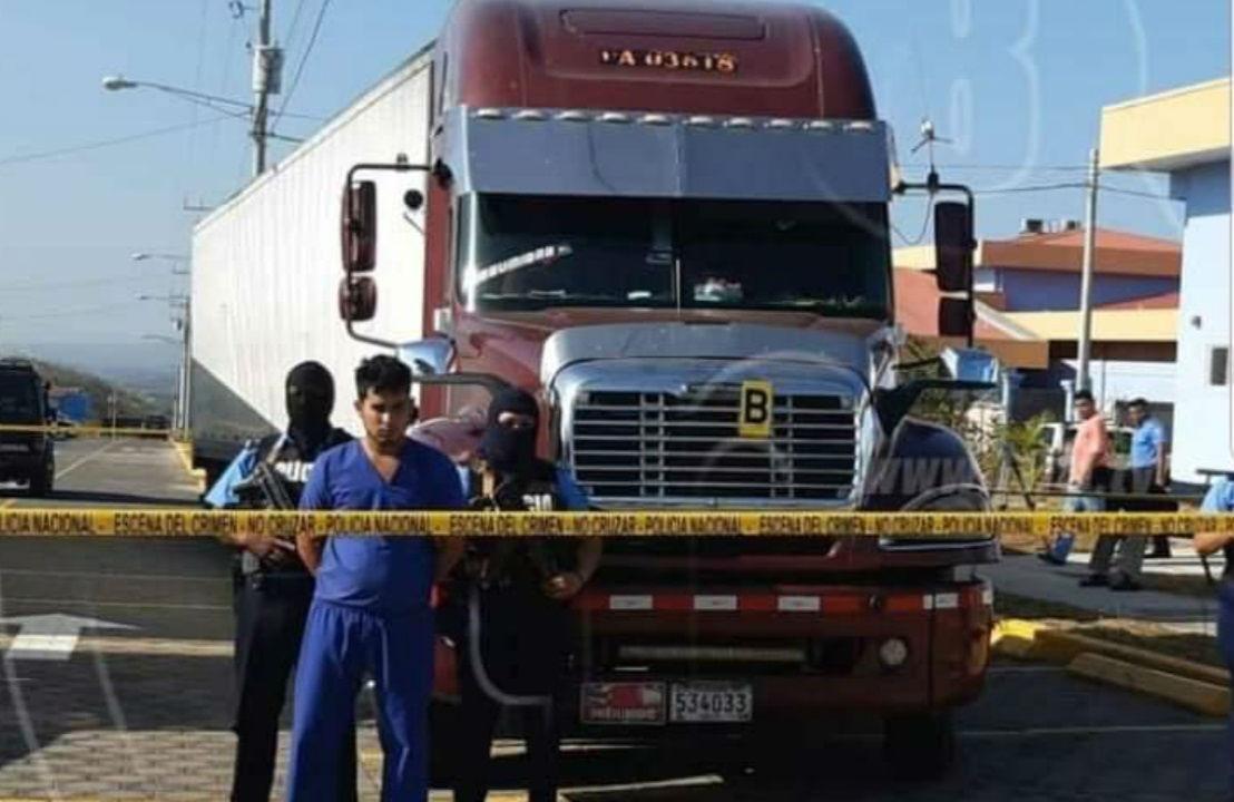 Panameño es detenido en Nicaragua con miles de dólares ocultos en camión