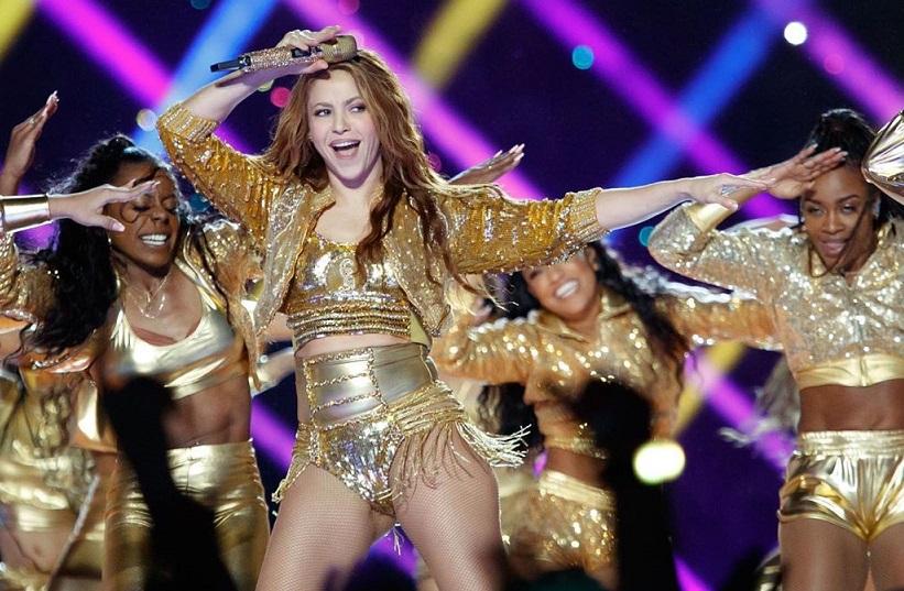 Shakira lanza '#ChampetaChallenge' por su baile del Super Bowl 2020