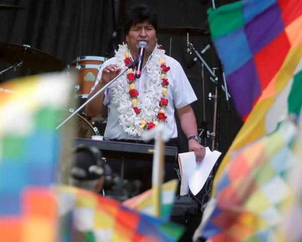 Tribunal Supremo Electoral de Bolivia tiene en observación la candidatura a senador de Evo Morales