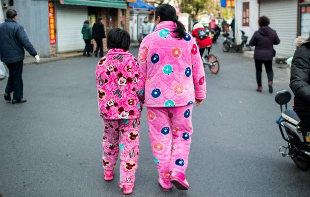 Gobierno utiliza software para avergonzar a una mujer que vistió una pijama rosada