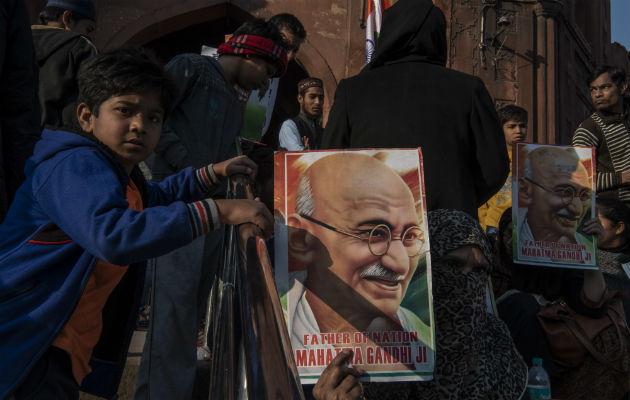 Una ley que margina a musulmanes llevó a protestas en las calles. Foto / Saumya Khandelwal para The New York Times.