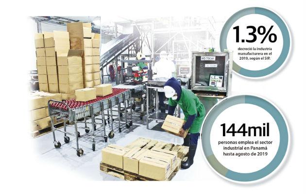 Industria manufacturera muestra números rojos