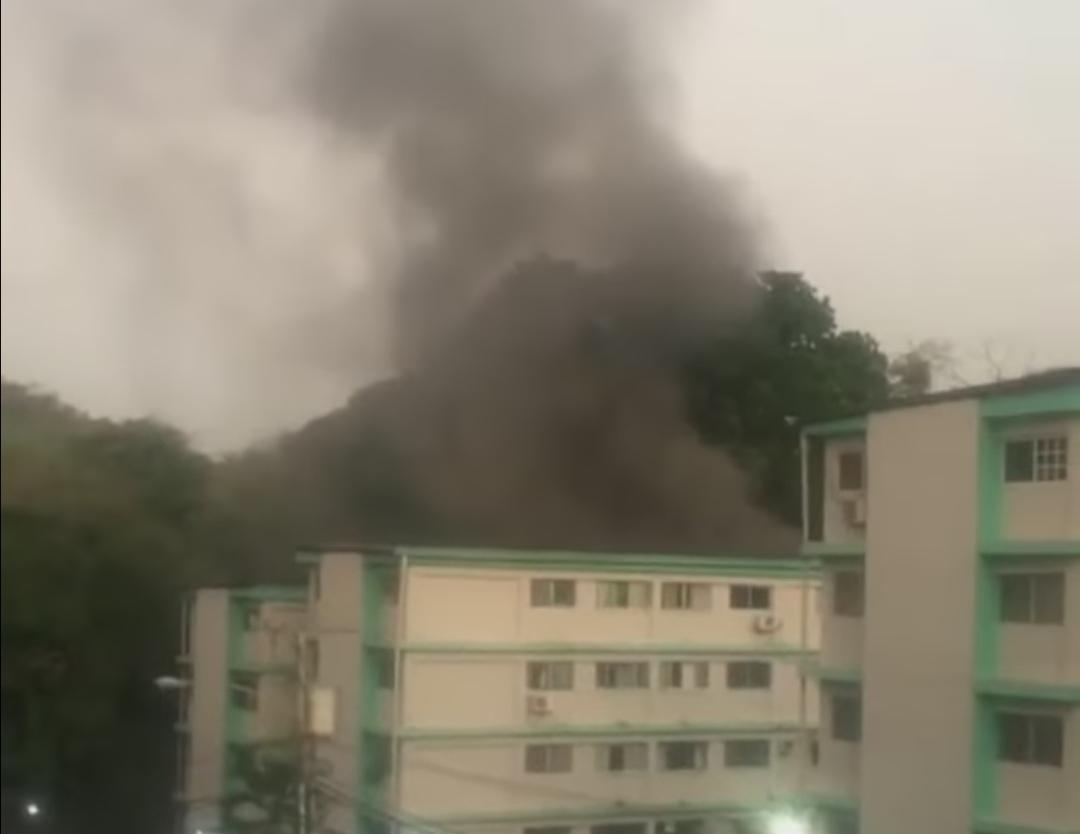Se  registra incendio en un apartamento en la  Locería