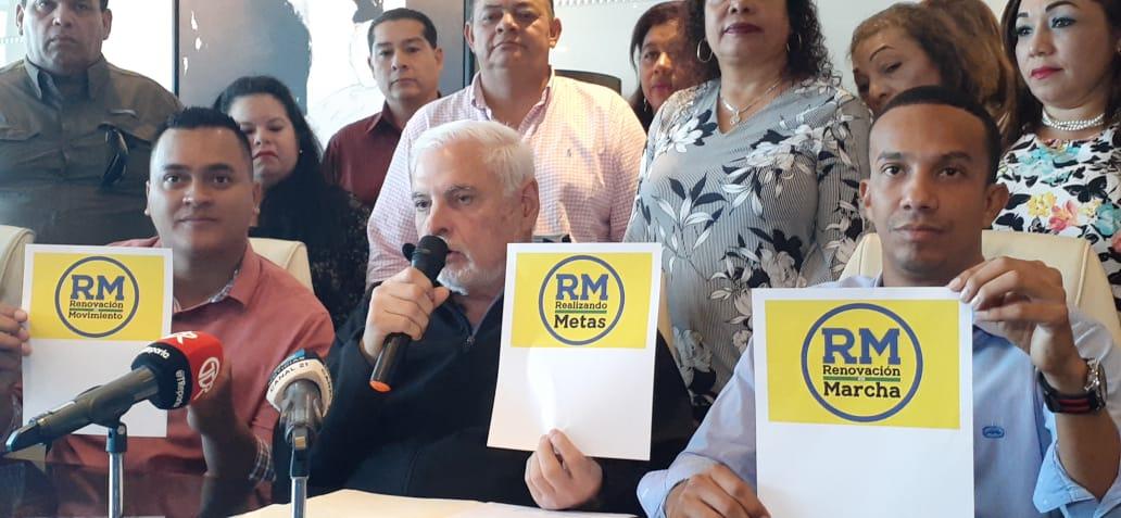 Nombre del nuevo partido de Ricardo Martinelli se escogerá por decisión popular