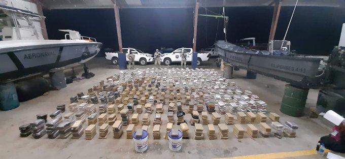 Senan incauta  1,367 paquetes de droga en Punta Burica
