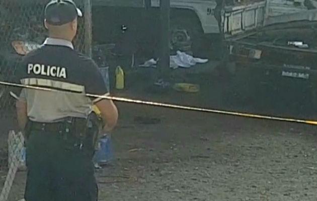 Richard Henríquez Vargas arreglaba su propio auto al momento de la tragedia. Foto: