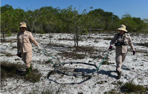 Ejército de Estados Unidos conserva minas en arsenal