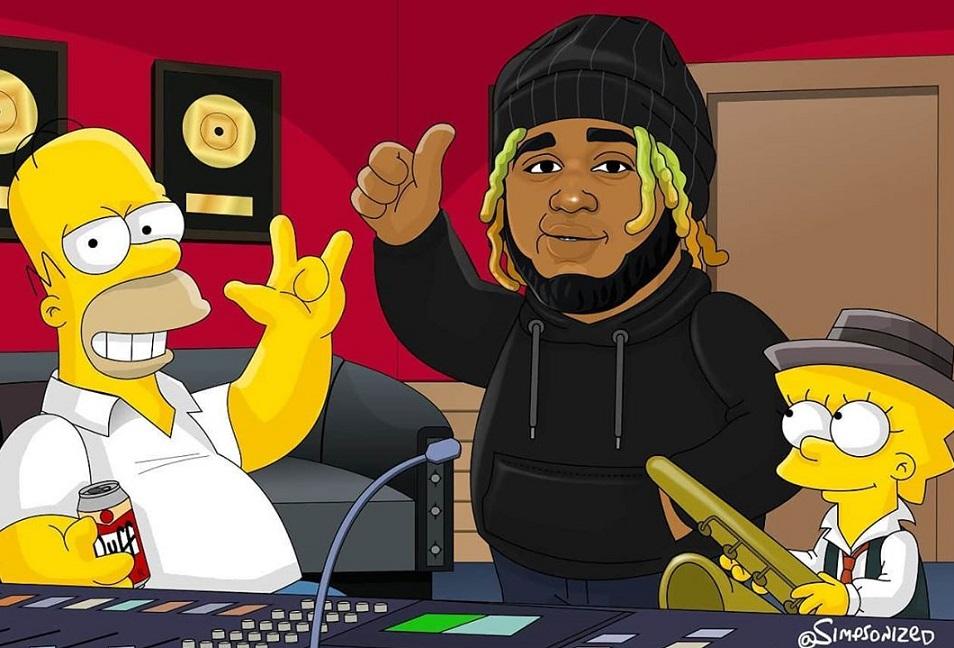 Sech llega a la casa de Los Simpson de la mano de Simpsonized Art