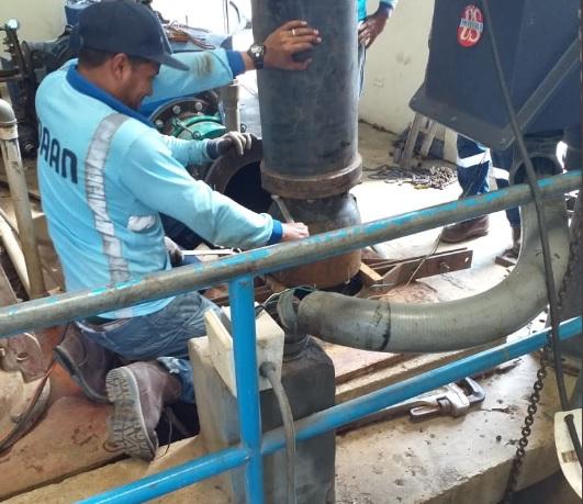 Planta potabilizadora de Chame trabaja a un 50% por reparaciones