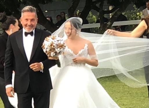 Hija de Ricardo Montaner decidió llegar virgen al matrimonio