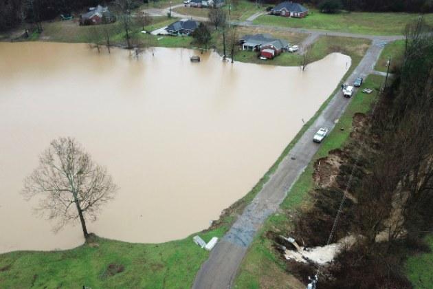 Fuertes tormentas causan estragos en Mississippi
