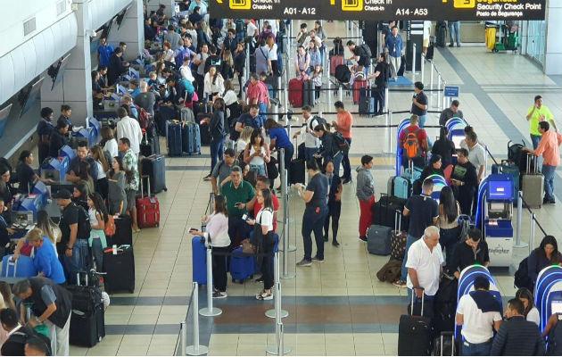 Aeropuerto Internacional de Tocumen proyecta movilizar unos 128 mil 613 pasajeros durante la celebración del Carnaval