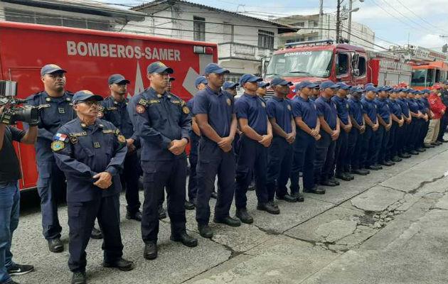 Más de 3 mil bomberos velarán por la seguridad de las personas durante el Carnaval