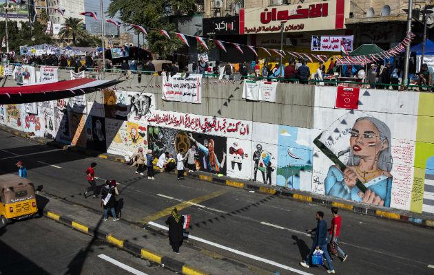 Ciudad es un lienzo para el arte político