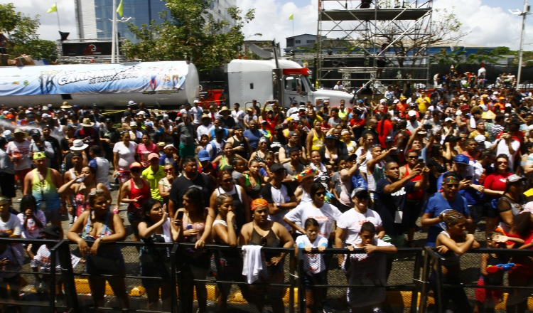 Decomisos y una férrea seguridad en  Carnaval 'Alegría y Tradición'
