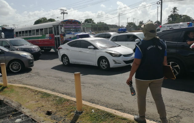 En el sector de La Pesa es donde hay mayor congestión vehicular. Foto: Eric Montenegro.