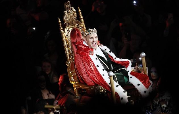 Tyson Fury  tras aplastar a Deontay Wilder: 'El rey ha vuelto a su trono'