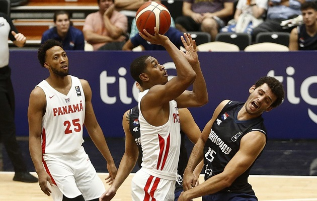 Panamá  le pega de nuevo a Paraguay en la  AmeriCup de baloncesto