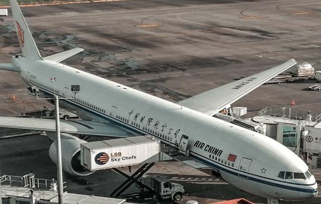 Aerolínea Air China mantiene suspensión de su ruta Houston-Panamá-Houston durante marzo