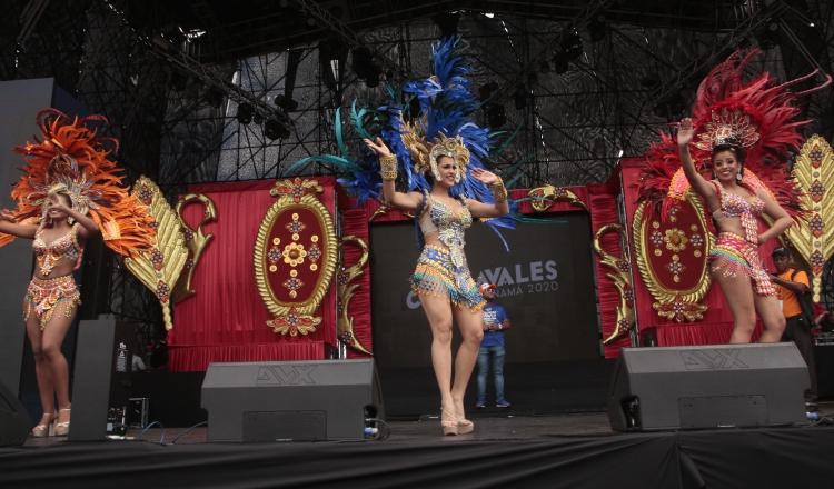Protestas y decomisos, durante tercer día del Carnaval en la capital