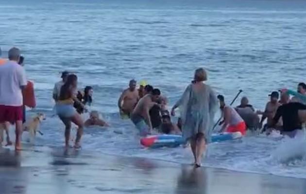 Playa Coronado, donde murió abuela que intentó rescatar a sus nietas, no tenía cobertura de Sinaproc