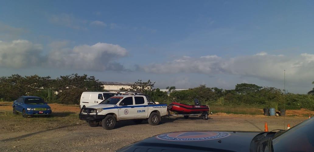 Realizan operativo en Lago Gatún buscan a una persona desaparecida