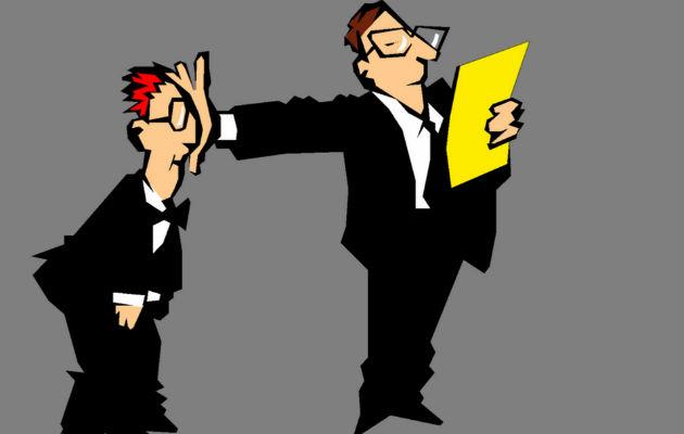 Cómo trabajar para un jefe cobarde