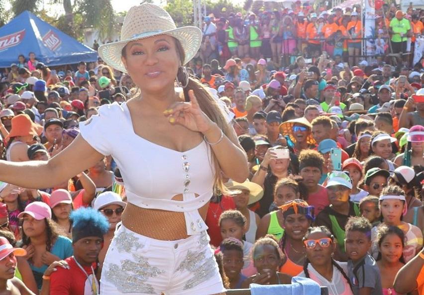Sandra Sandoval: 'Anoche me confundieron con el Rey Julien de Madagascar'