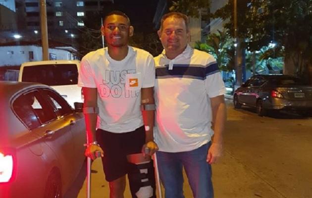 Ismael Díaz  empezó una nueva lucha tras someterse a otra operación en la rodilla