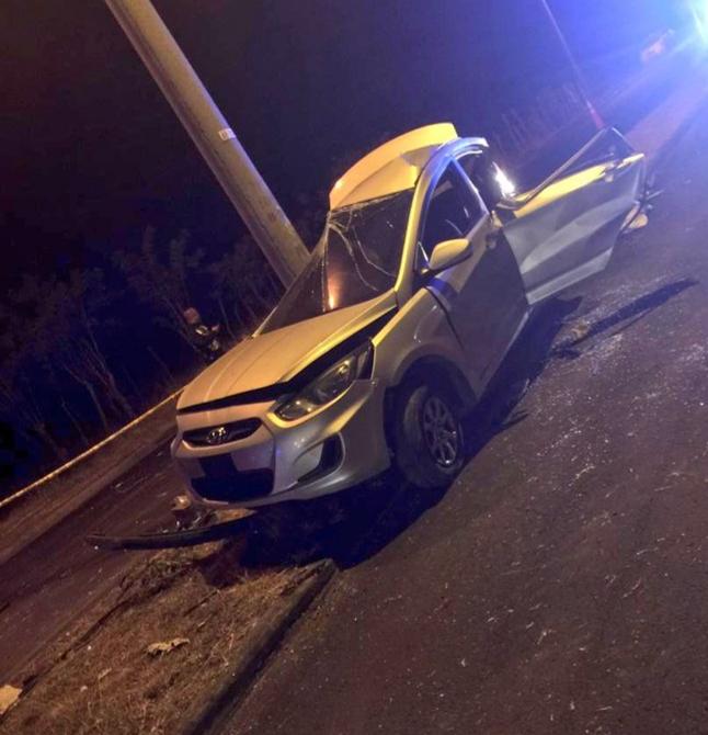 Una mujer fallece al colisionar con un objeto fijo en Chiriquí
