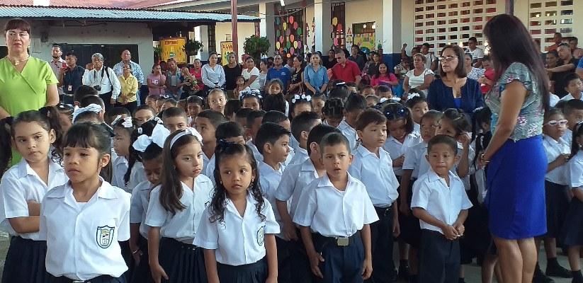 Unos 112 mil estudiantes inician el periodo escolar 2020 en Chiriquí