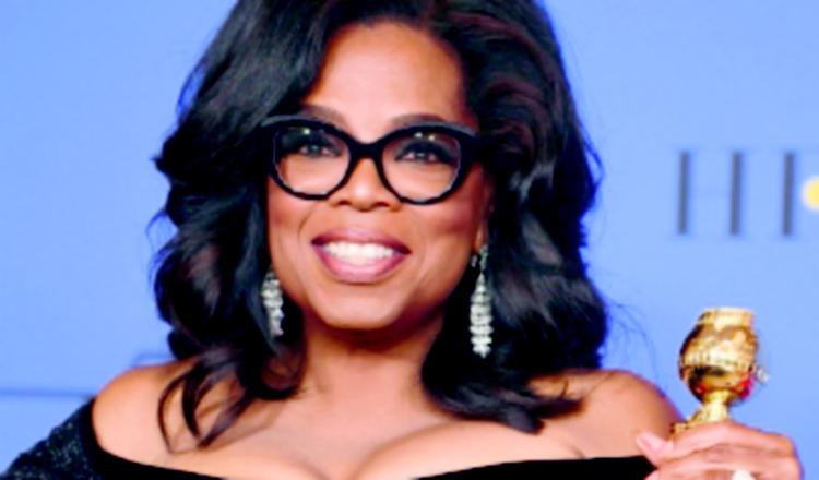 Oprah Winfrey sufre caída en el escenario