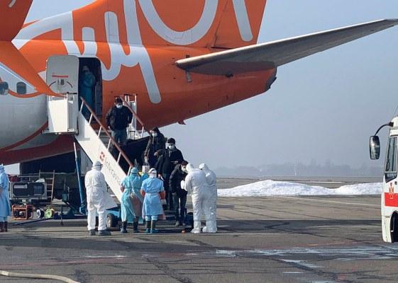 Latinoamericanos en cuarentena en Ucrania serán dados de alta este jueves, no tienen coronavirus