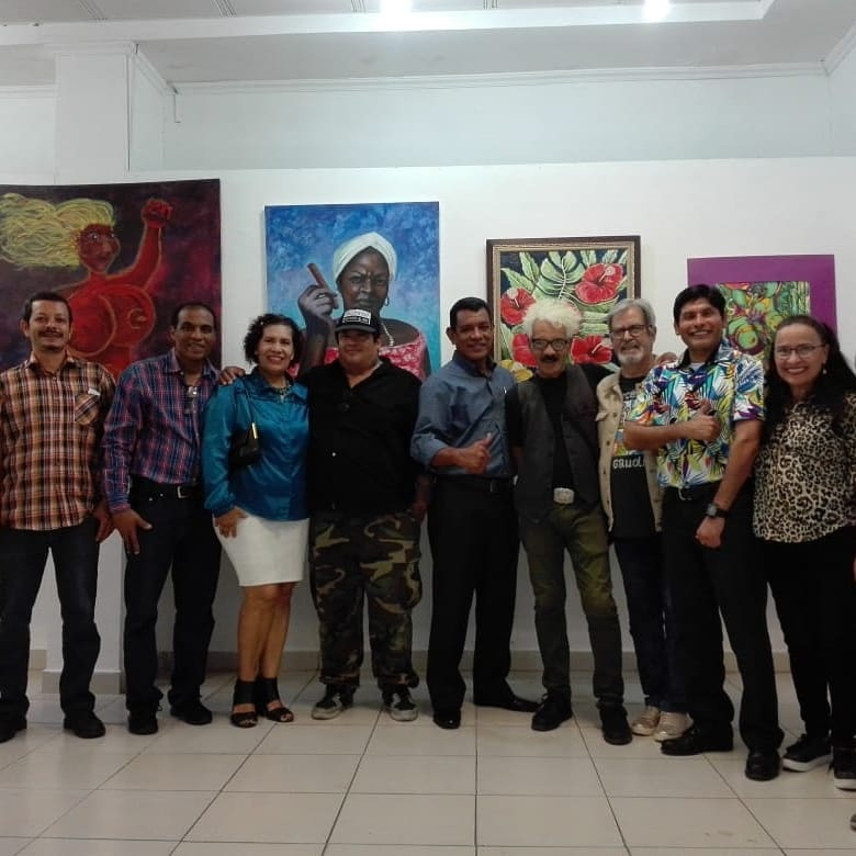 Linda Maquivar y otros destacados artistas plásticos de Panamá los invitan a colectiva en GAMA, UP, en homenaje a Moravia Ochoa. Foto: Cortesía Linda Maquivar