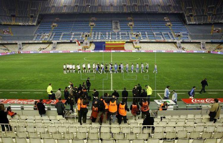 Recomendación sanitaria: Valencia-Atalanta y Getafe-Inter serán a puertas cerradas