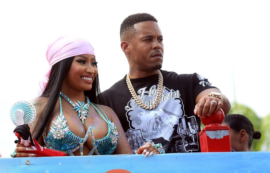 Arrestan al esposo de Nicki Minaj por no registrarse como agresor sexual