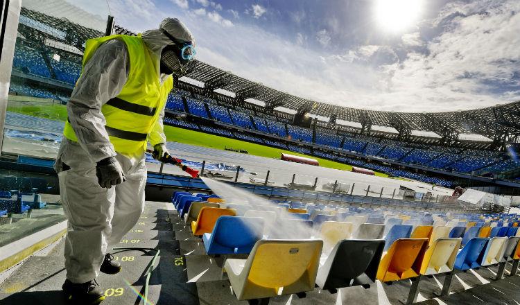 Vuelve la liga italiana, pero sin público en los estadios por el coronavirus