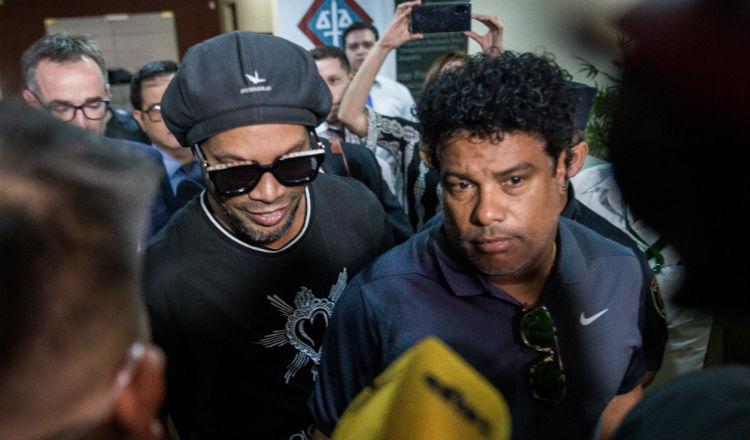 Ronaldinho acumula deudas y problemas con la Justicia en Brasil y Paraguay