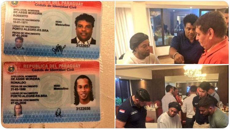 Los memes se burlan del arresto de Ronaldinho en Paraguay